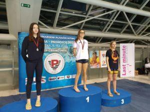 """12° meeting internazionale di nuoto """"Victoria Primorje"""" - Anna Porcari"""